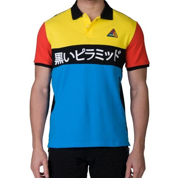 9506229b Black Pyramid Shirts | Poshmark